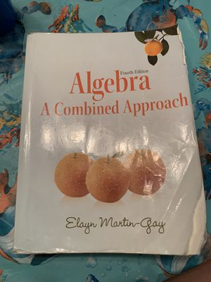 Algebra Textbook: A Combined Approach for Sale in Philadelphia, PA