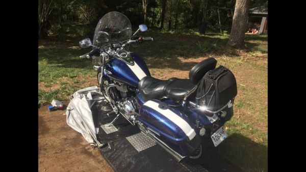 2010 Triumph Thunderbird 1600 Motorcycle with accessories