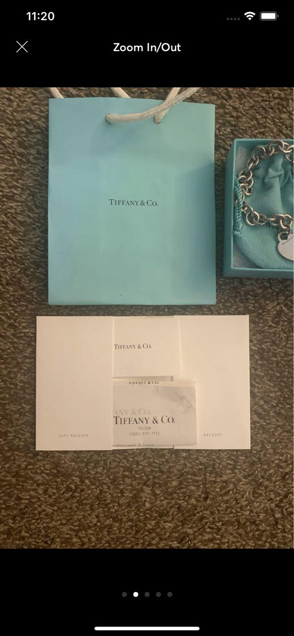 Tiffany & Co Heart Tag Bracelet