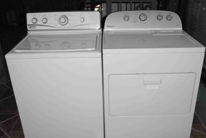 Washer and gas dryer with Steam for Sale in Houston, TX