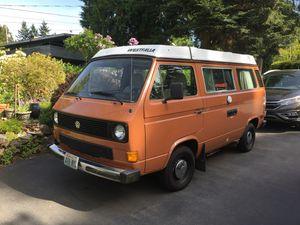 1984 Volkswagen Westfalia Camper Van for Sale in Seattle, WA