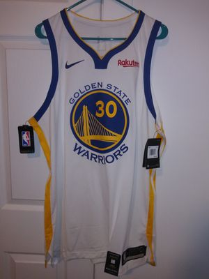 Warriors Authentic on court Curry #30 Home Jersey with tags Sz XL! for Sale in San Francisco, CA