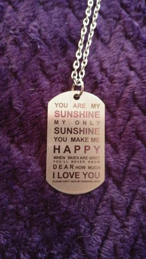 My sunshine dog tags Obo for Sale in Santa Maria, CA