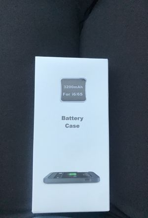 iPhone 6/6s battery case for Sale in Miami, FL