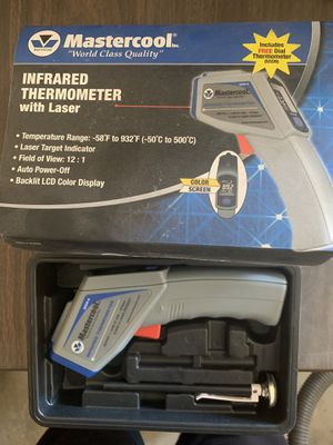 Infrared thermometer with laser for Sale in Visalia, CA