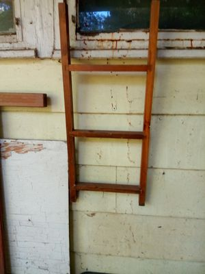 Small ladder could be used for shelf with back put on it for Sale in Mounds, OK