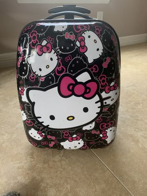 Hello kitty luggage for Sale in Houston, TX
