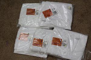 5 pair of White Landau XL Scrub Pants for Sale in Lawrenceville, GA