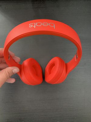 Beats Solo 3 Wireless (Product Red) Special Edition for Sale in Fontana, CA