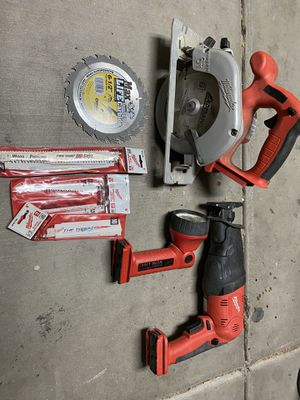 Milwaukee and black and decker for Sale in Chandler, AZ