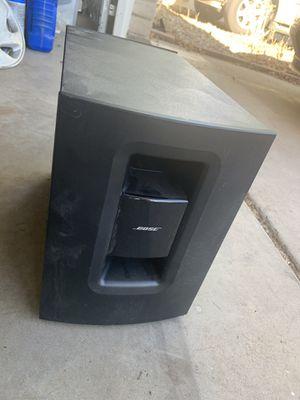 Bose CineMate 1sr Digital Home Theater Speaker Subwoofer - Model 329009 for Sale in Glendale, AZ