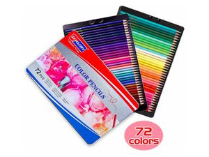Colored Pencils Art Supplies Set with Bright Colour Advanced Soft core Color Pencils Use (Tin Box Packaging), 72 Colors for Sale in Rancho Cucamonga, CA