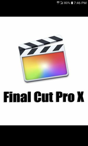 Final Cut Pro X for Sale in West Hollywood, CA