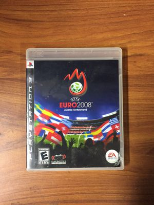 UEFA Euro 2008 - Ps3 for Sale in Moreno Valley, CA