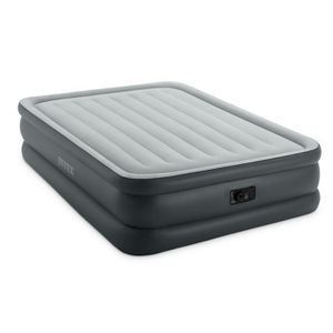 Intex Dura-beam Essential Rest Air Mattress with Built-in Electric Pump, Queen for Sale in Houston, TX