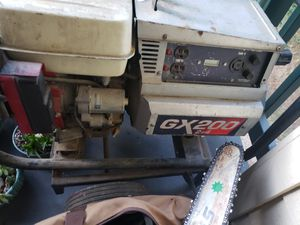 Gx200 gas powered welder/generator with all leads for Sale in Renton, WA