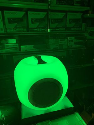 Portable rechargeable bt lighting auto disco light speaker for Sale in San Francisco, CA