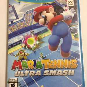 wii u Nintendo game Mario Tennis for Sale in Champaign, IL