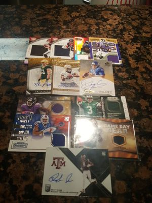 Autograph and Jersey Football Cards Lot 2 for Sale in OR, US
