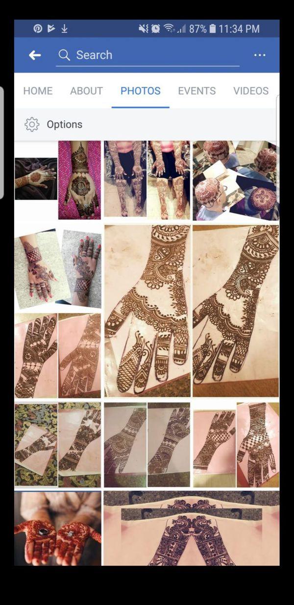 Henna (tattoo ) artist