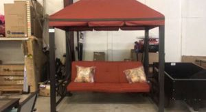 New!! Gazebo swing, 3 person swing, porch swing, swing bed for Sale in Phoenix, AZ