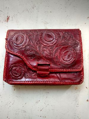 Vintage leather hand tooled purse for Sale in Salt Lake City, UT