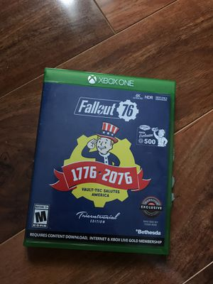 FALLOUT 76- XBOX ONE for Sale in Chicago, IL