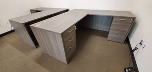 Office furniture L-Shape desk, traditional or modern for Sale in Ontario, CA