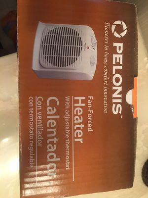 Pelonis Electric fan forced heater NEW for Sale in Hampton Township, PA