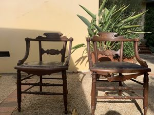 Two antique chairs for Sale in Los Angeles, CA