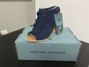 TOMs ruffle bootie for Sale in Gallatin, TN