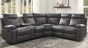 Reclining Sectional Sofa. SPECIAL OFFER. $53 DOWN PAYMENT for Sale in Orlando, FL