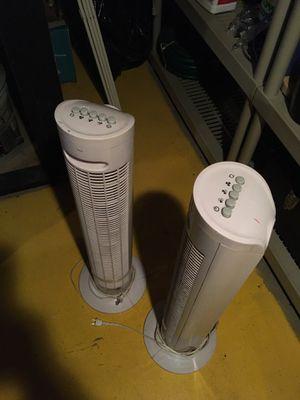 2 floor fans for Sale in Gaithersburg, MD