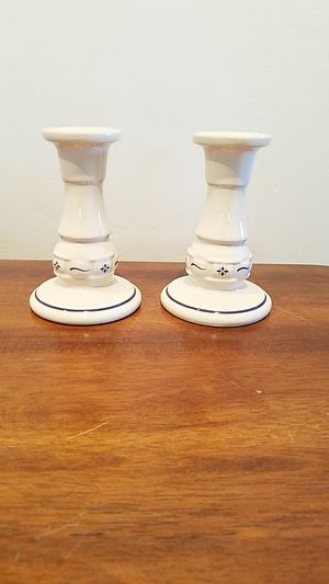 Longaberger Candleholders for Sale in Fullerton, CA