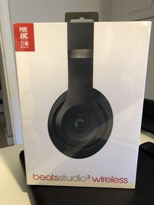 Beats Studio 3 Wireless Headphones for Sale in East Lansdowne, PA
