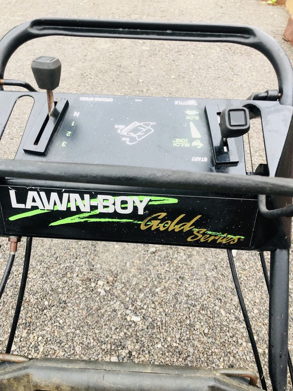 Lawn boy gold series 4.5 hp