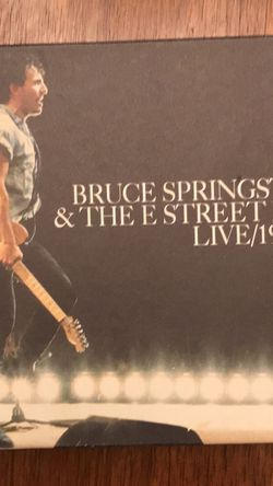 Bruce Springsteen & The E Street Band: Live/1975-85 for Sale in Fair Oaks,  CA