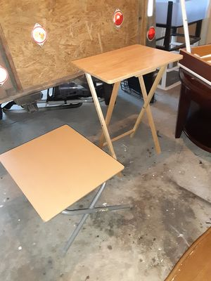 Firm price SET of wood tables for Sale in Durham, NC