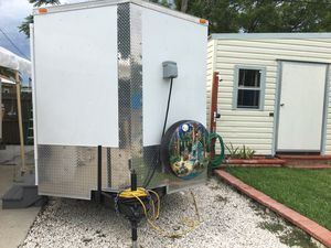 Toy Hauler/Camper/enclosed trailer for Sale in Tarpon Springs, FL