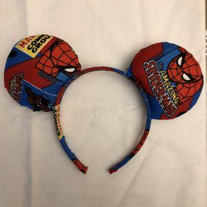 Amazing Spider-Man Disney/Minnie/Mickey Ears! for Sale in Glendora, CA