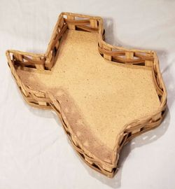 Texas Shaped Wicker Basket for Sale in Eagle Pass,  TX