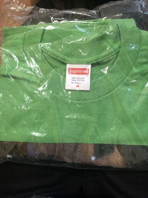 708b19a57 King of New York green tee supreme size medium for Sale in Brooklyn, NY