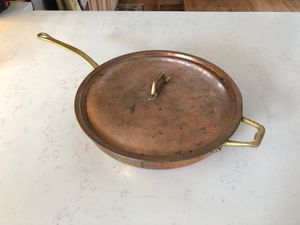 Antique copper pan for Sale in Seattle, WA