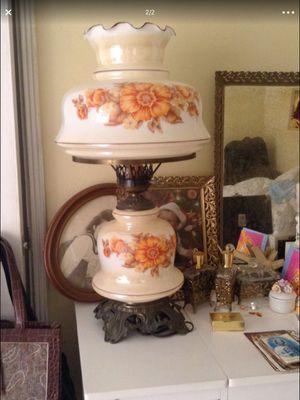 Antique Glass, brass, mirror dresser set - 5 pieces - for Sale in Boca Raton, FL