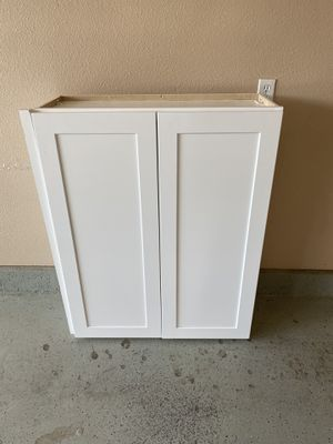 White Cabinet, never used. for Sale in Highland, CA