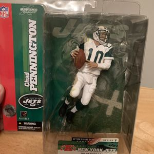 McFarlane Chad Pennington New York Jets 7inch Figure for Sale in Plainfield, IL