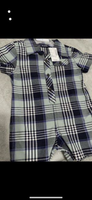 Brand new baby boy Romper 9-12months $8firm for Sale in Laveen Village, AZ