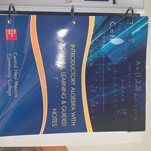 Algebra Book CNM for Sale in Kirtland Air Force Base, NM