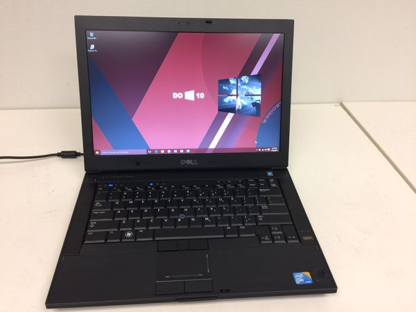 """Dell 14"""" laptop duo core 500gb hd 4gb ram win10 msoffice with watching movie sotware with charger"""