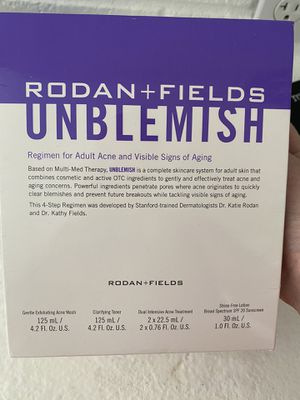 Rodan and fields Unblemish kit (I have two unopened) for Sale in Fort Lauderdale, FL